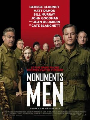 Monuments Men affiche